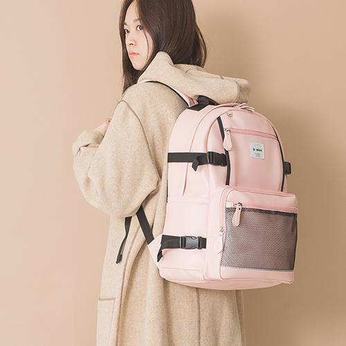 [키링증정][르마인]Lemine - LE20FPK secret backpack 신학기 가방 레더 백팩