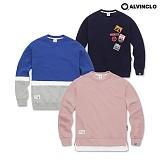 ★단독★[앨빈클로]ALVINCLO  요즘 핫한 인기 10종 맨투맨 크루넥 스��셔츠