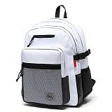 [스타일플랜] STYLEPLAN VIBE leather BACK PACK (WHITE) 바이브 레더 백팩 화이트 가방 벙커백