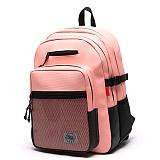 [스타일플랜] STYLEPLAN VIBE leather BACK PACK (PINK) 바이브 레더 백팩 핑크 가방 벙커백