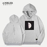 [엠블러]AMBLER 특양/기모 후드티 AHP302-멜란지 후디 세미오버핏
