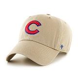 47Brand - MLB모자 시카고 컵스 카키