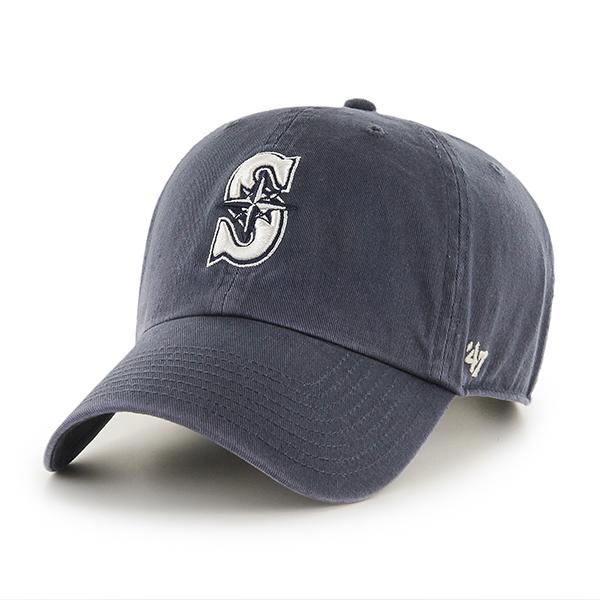 47브랜드 - MLB모자 시애틀 매리너스 네이비 빈티지 (한정모델) 볼캡 야구모자