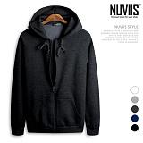 [뉴비스] NUVIIS - 남녀공용 모노컬러 나그랑 후드집업 (AV006HDZ)