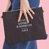 [플랩비]FLAPB - B Pouchi (BLACK) 가방 파우치 크로스백 미니백 클러치백