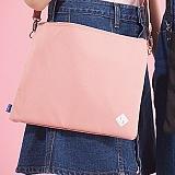 [플랩비]FLAPB - B Pouchi (PINK) 가방 파우치 크로스백 미니백 클러치백 핑크
