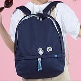 [플랩비]FLAPB - Hidden Pocket Backpack (NAVY) 백팩 가방 데이백 스탠다드 무지백팩