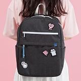 [플랩비]FLAPB - Demilune Backpack (BLACK) 백팩 가방 데이백 스탠다드 무지백팩