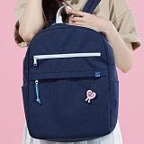 [플랩비]FLAPB - Demilune Backpack (NAVY) 백팩 가방 데이백 스탠다드 무지백팩