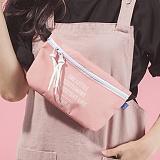 [플랩비]FLAPB - B Sling Bag (PINK) 가방 슬링백 힙색 웨이스트백