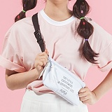 [플랩비]FLAPB - B Sling Bag (WHITE) 가방 슬링백 힙색 웨이스트백