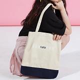 [플랩비]FLAPB - Two Tone Eco Bag (IVORY) 가방 에코백 투톤 숄더백