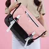 [플랩비]FLAPB - Mesh Messenger Bag (PINK) 가방 메신져백 메쉬 메신저백 핑크