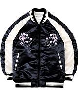 [언더에어]UNDER AIR Sakura Storm Jkt - Black 사쿠라 스톰 스카쟌 블루종 재킷 자켓