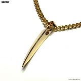 SEXTO - [써지컬스틸]TYPE S-07 P.D GOLD 펜던트