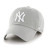 47Brand - MLB모자 뉴욕 양키즈 그레이 화이트 (한정모델) 볼캡 야구모자