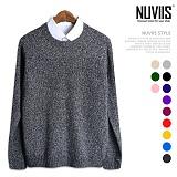 뉴비스 - 심플 보카시 컬러 니트 (MD027KN) 스웨터