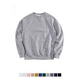 [어커버]ACOVER - [기모] 650g Tumble Crewneck Sweatshirts 무지 맨투맨 크루넥 스��셔츠