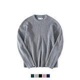 [어커버]ACOVER - Over Round Knit #1 팔긴 니트 니트티