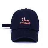 [슬리피슬립]SLEEPYSLIP - [unisex]7HOUR CRESCENT NAVY BALL CAP  볼캡 야구모자