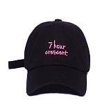 [슬리피슬립]SLEEPYSLIP - [unisex]7HOUR CRESCENT BLACK BALL CAP  볼캡 야구모자