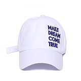 [슬리피슬립]SLEEPYSLIP - [unisex]MAKE DREAM COMETRUE WHITE  BALL CAP  볼캡 야구모자