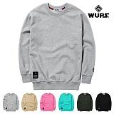 [웝스]WUPS - 웝스 베이직 맨투맨 WTM001 크루넥 스��셔츠