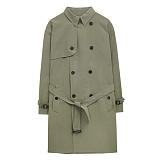 [에이비로드]ABROAD - Classic Over Trench Coat (light khaki) 클래식 오버 트렌치 코트
