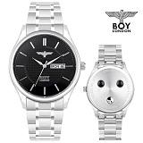 [BOY LONDON] 보이런던 H7701-BK 게르마늄 음이온 시계 본사정품
