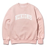 [네이키드니스][기모] COLLEGE NAPPING SWEAT SHIRT / INDI PINK 맨투맨