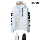 [모니즈]MONIZ 네오프렌 넘버블랙 후드티 HDT035