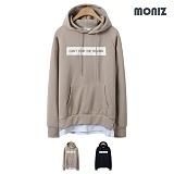 [모니즈]MONIZ 필링 레이어드 후드티 HDT032