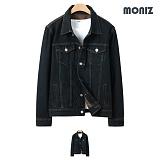 [모니즈]MONIZ 브라운 워싱 청자켓 JKD018