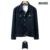 [모니즈]MONIZ 소매나염 청자켓 JKD015