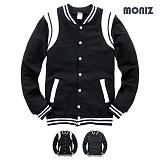 [모니즈]MONIZ 어깨이중 레더 야구점퍼 BJP085