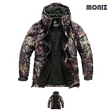 [모니즈]MONIZ 레오파드 보드복 패딩점퍼 BPD509