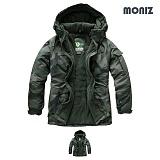 [모니즈]MONIZ 카모 보드복 패딩점퍼 BPD507