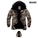 [모니즈]MONIZ 모자이크 보드복 패딩점퍼 BPD505