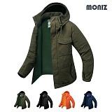 [모니즈]MONIZ 사우스 하프 패딩 야상점퍼 BPD031 야상패딩