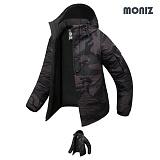 [모니즈]MONIZ 카모 보드복 패딩점퍼 BPD007