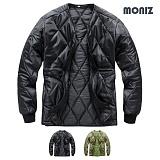 [모니즈]MONIZ 브이넥 깔깔이점퍼 KKA901