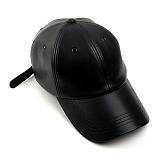 [슈퍼비젼]supervision - 클레식 레더볼캡 블랙 - [POP] 가죽 야구모자