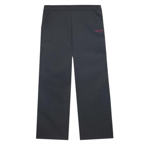 [에이비로드]ABROAD - Sold Out Wide Pants (charcoal) 솔드 아웃 와이드 팬츠