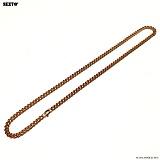 SEXTO - [써지컬스틸]S-00 chain necklace ROSE GOLD 체인목걸이