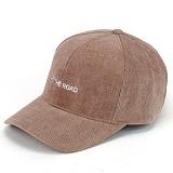 [핍스] PEEPS 6p hit the road corduroy ball cap(light brown) 코듀로이 볼캡 골덴 야구모자