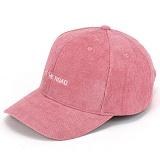 [핍스] PEEPS 6p hit the road corduroy ball cap(pink) 코듀로이 볼캡 골덴 야구모자