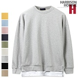 [해리슨]HARRISON - BS 베이직 레이어드 스웨트셔츠 SU1006 크루넥 스��셔츠 맨투맨