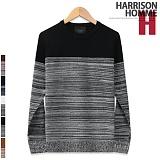 [해리슨]HARRISON - 믹스매치R MT1015 니트