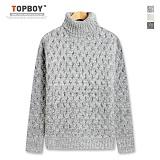 [탑보이] 잔 트위스트 폴라니트 (DG103) 스웨터