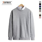 [탑보이] 램스울 루즈핏 라운드 니트(DO093) 스웨터